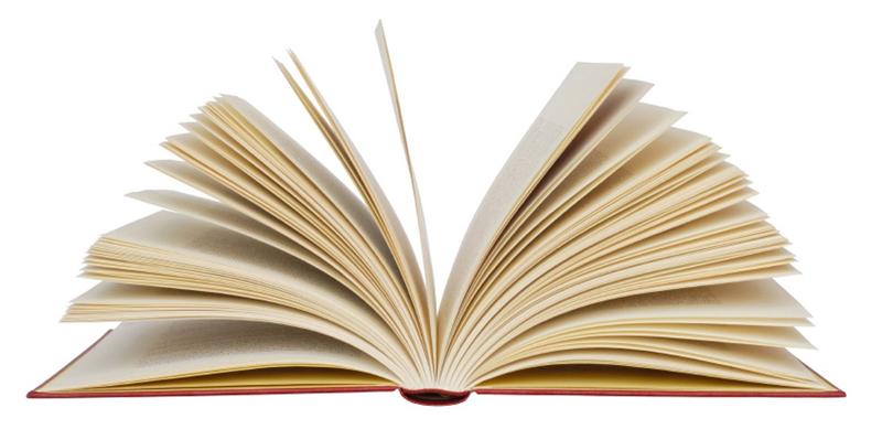 Imagen de un libro abierto