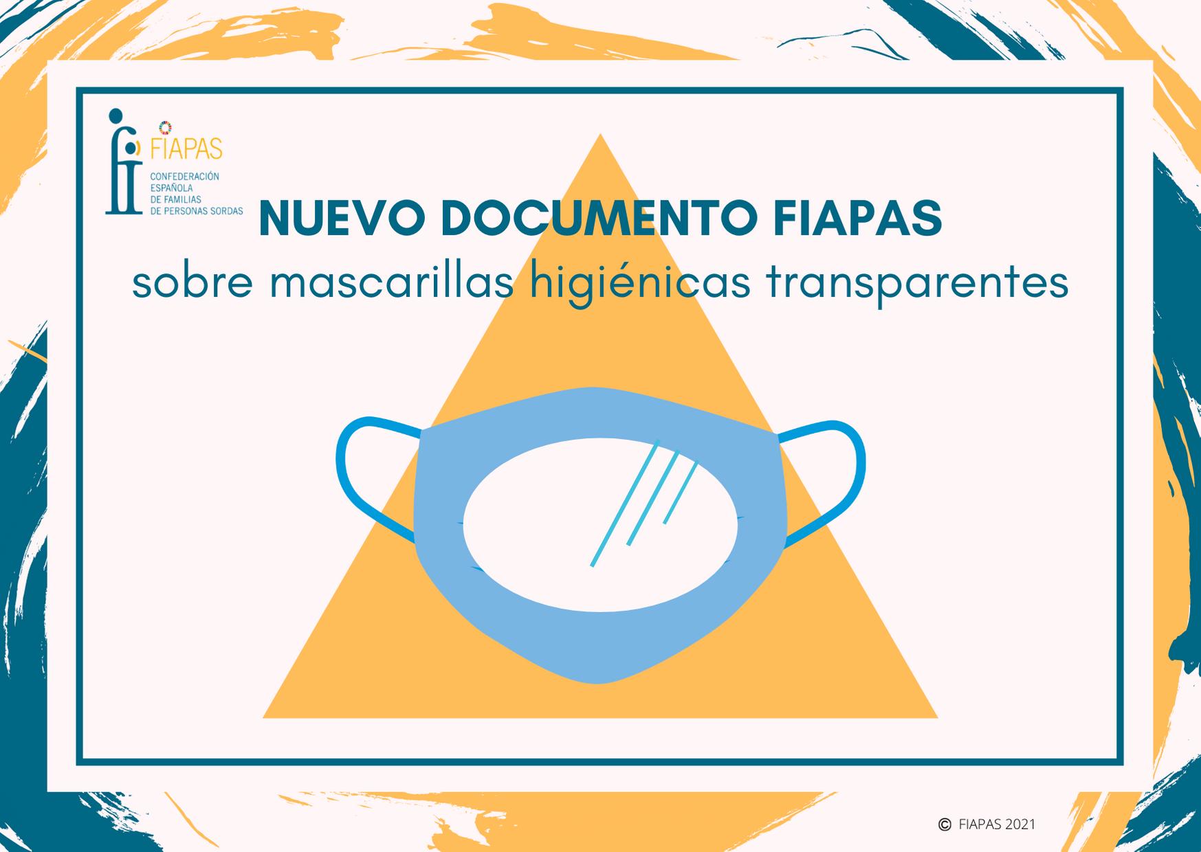 Montaje mascarillas transparentes