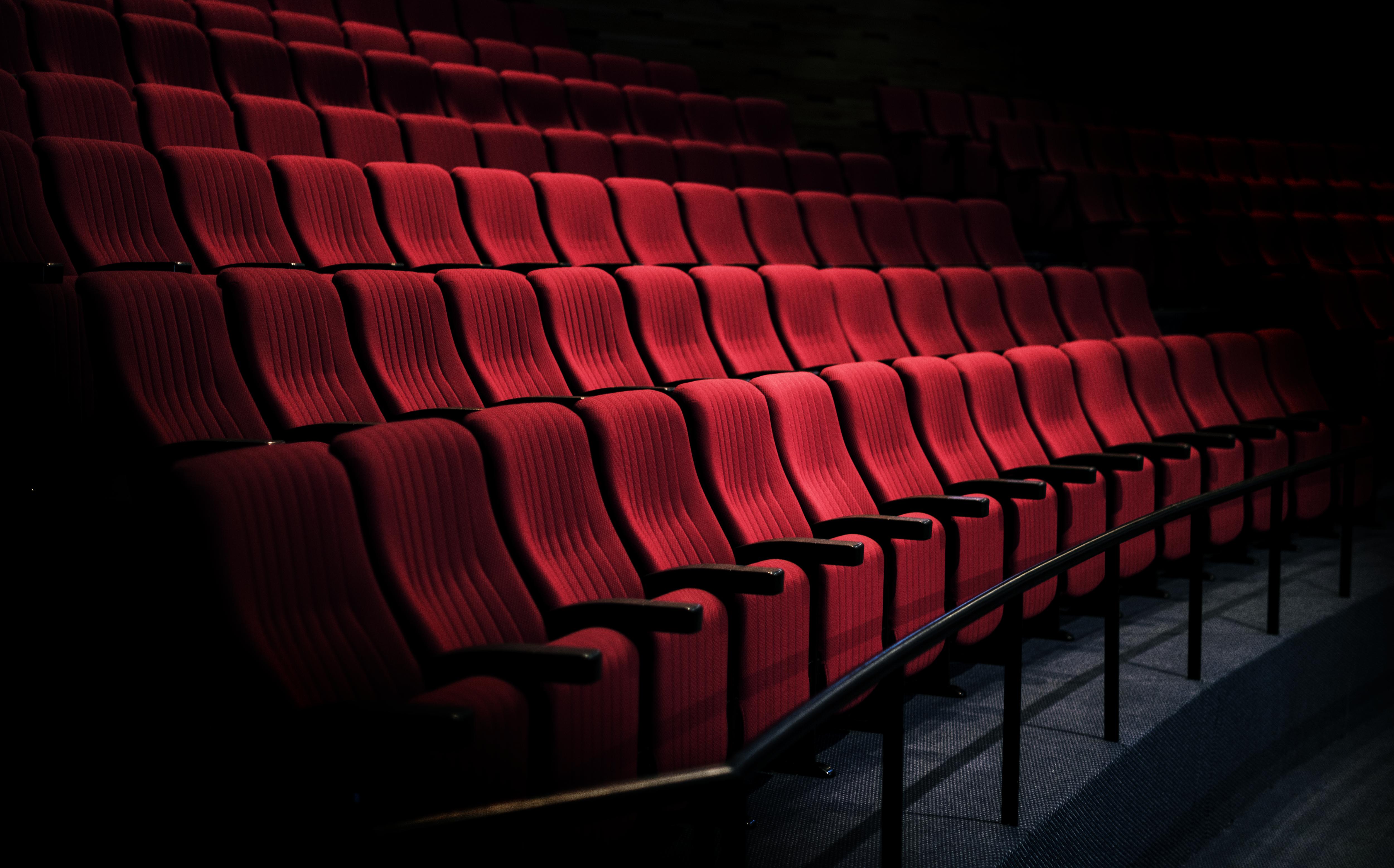 fila de asientos cine