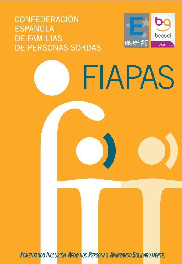 Folleto institucional FIAPAS. Archivo PDF