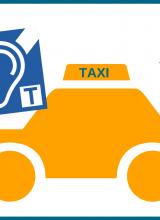 bucle magnético en taxi